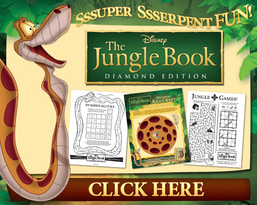 THe Jungle Book Free Printables